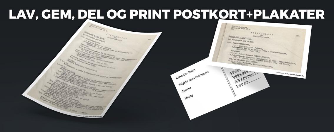 postkortogplakater