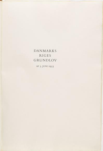 grundloven 1956