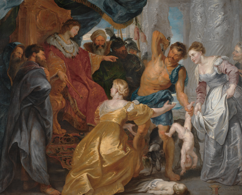 The Judgement of Solomon, About 1617